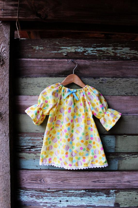 Easter Dress Three Quarter Length Long Sleeve By