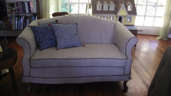 Sofa Slipcover  with 1 or 2 Cushions