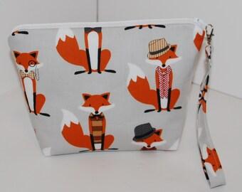 Dapper Fox Gray project bag