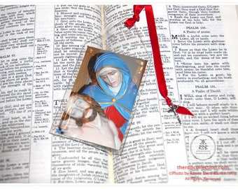 Pieta with Cross Charm Bookmark - Limited Edition