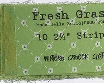 Fresh Grass 10 strip Jelly Roll