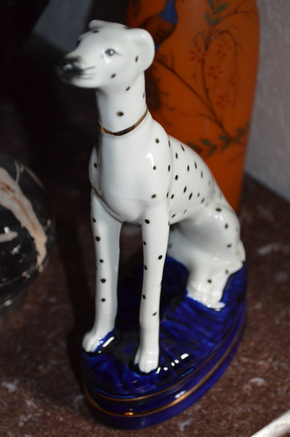 Fitz Amp Floyd Vintage 1950s 8 5 Dalmation Figurine On
