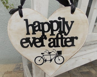 Happily ever after on a bicycle built for two