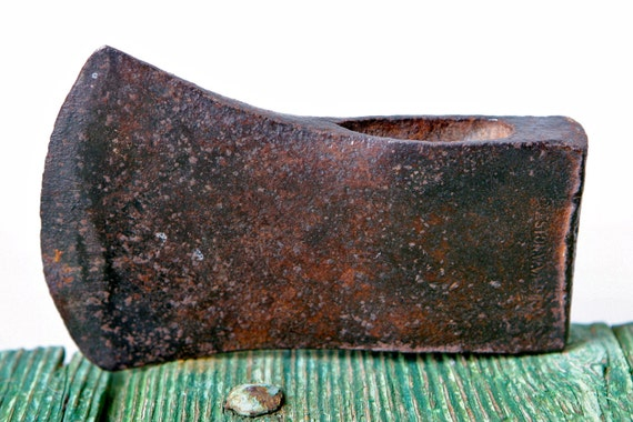 Italian metal axe head