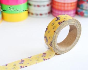 Japanese Washi Tape - Masking Tape - Paper Tape - Washi Paper - Deco Tape - Gift Packing - WT1201