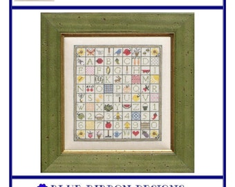 Green Thumb Gameboard (BRD-053) Cross Stitch Design