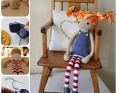 Astrid: A Crochet doll PDF Pattern