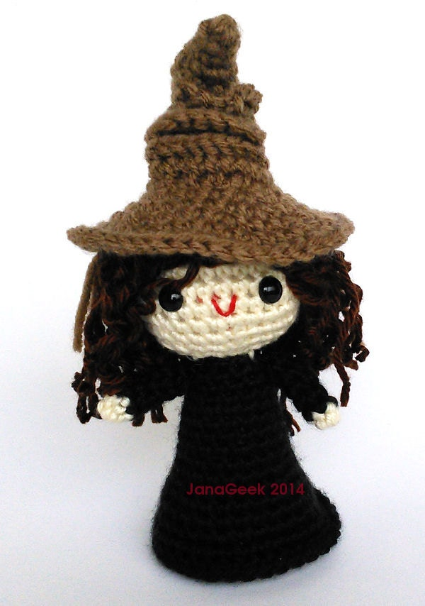 Pattern for Harry Potter Sorting Hat Doll Sized Crochet