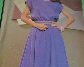 See & Sew 5174  Misses Dress Sewing Pattern - UNCUT - Sizes  8 10 12 14 16