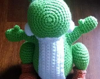 Amigurumi Yoshi Hakeln : Popular items for crochet yoshi on Etsy