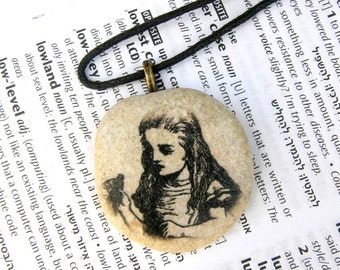Alice in wonderland, Alice in wonderland necklace,Alice in wonderland pendant,Alice in wonderland jewelry, Alice in wonderland pendant, Gift