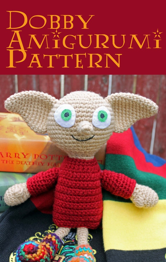 Dobby Harry Potter Amigurumi : Crochet Pattern: Dobby Amigurumi Harry Potter