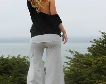 Silver Shimmer Belle Flare Pants