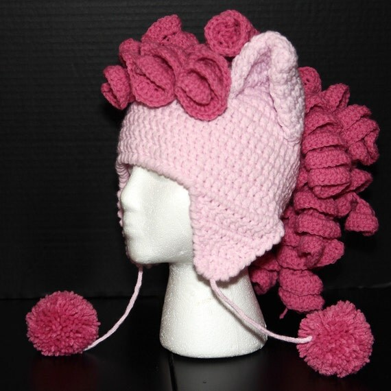 My Little Pony Ears & Mane Hat - Pinkie Pie
