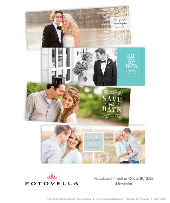 Facebook Timeline Cover Templates Wedding And Save The Date