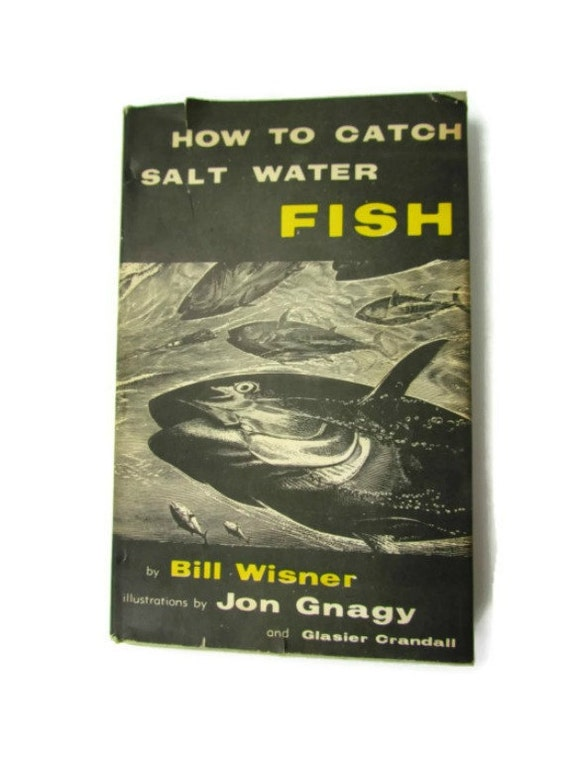 How to catch saltwater fish hard cover book by atticandbarntwo for Book with fish on cover