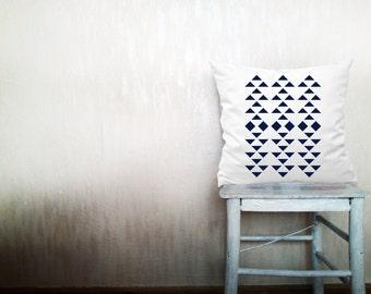 Geometric pillows decorative throw pillows white triangle pillows chevron throw pillows Christmas pillows arrow pillows 24x24 inches pillows