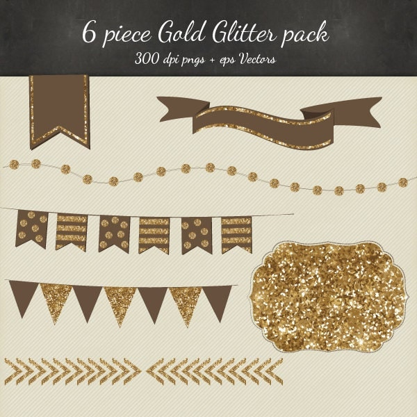 Gold Sparkles Clipart Gold Glitter Clipart Vector 8
