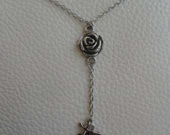 The Rose and Thorn of Camorr Necklace
