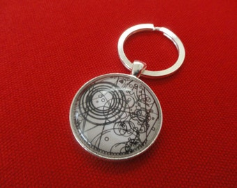 Doctor Who Watch Design Keychain