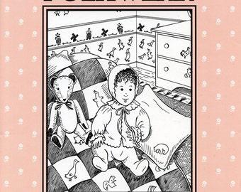 Folkwear Nursery Days - Baby Bonnet, Bed Jacket, Crib Quilt, Pillow, Sham & Teddy Bear Sewing Pattern #304