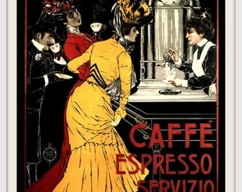 Italy Coffee Advert 1890s