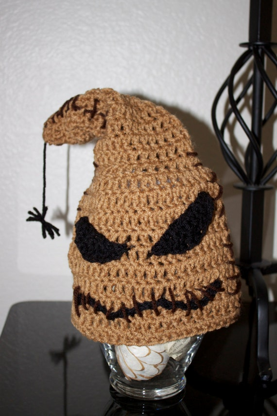 Free Nightmare Before Christmas Crochet Hat Patterns Dancox For