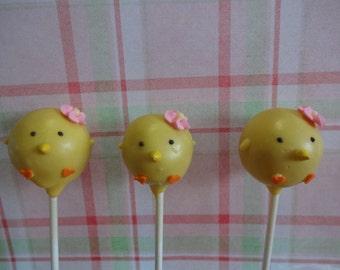 Little Chicks Cake Pops