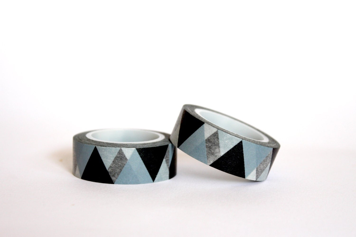 Black Big Triangles Washi Tape