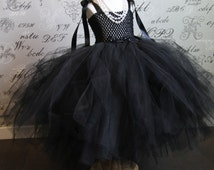 Breakfast at Tiffany's Audrey Hepburn Costume FREE LONG black gloves glasses tiaratulle dress up Hallowen,Photo Prop,Children Toddler Infant