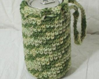 Desert Camo Crochet Can Cozy