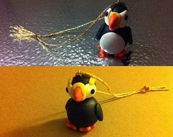 Mini Puffin Ornament