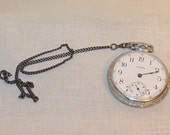 Antique Waltham 17 Jewel Pocket Watch Circa 1913