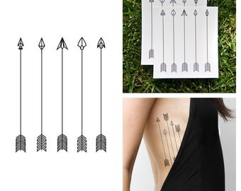 Dart Set - Temporary Tattoo (Set of 2)
