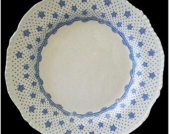 "Stellar Antique Dishware Collectible! English JOHN RIDGWAYS ""Columbian Star"" Transferware PLATE ~ Dated 1840"