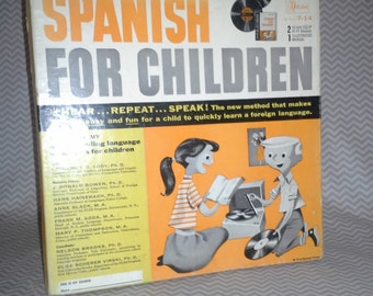 Spanish for Children Record Set