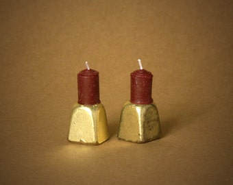 Miniature Candle Holder For Your Dollhouse