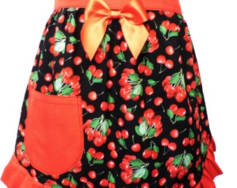 Cherries half apron