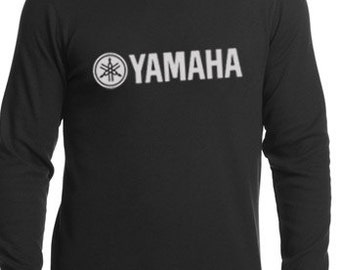 Yamaha racing t-shirt long sleeves  motocross shirt  stylish