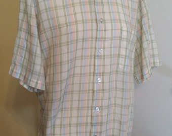 Vintage KMart Short Sleeve Shirt