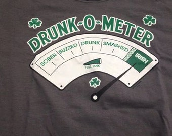 Saint Patricks Day Drunk Meter