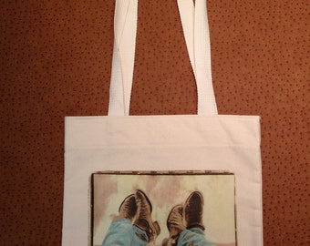 Western Tote Pictures Boots, Spurs & Jeans