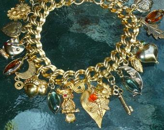 Autumn/Fall Charm Bracelet