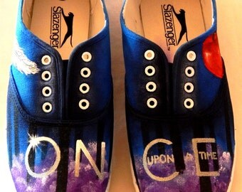 Purple Smoke Once Upon A Time Shoes