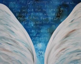 Custom Scripture Verse Paintings
