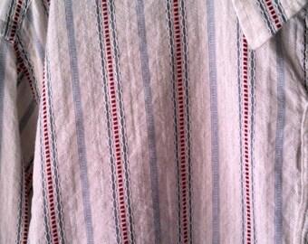 Austin Reed men's XL shirt/ 1970s casual button up