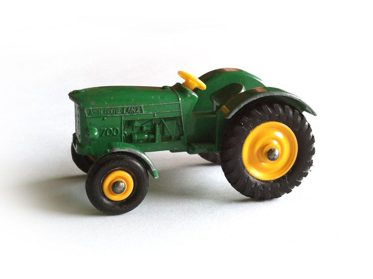 John Deere Matchbox Tractor : Lesney matchbox john deere tractor