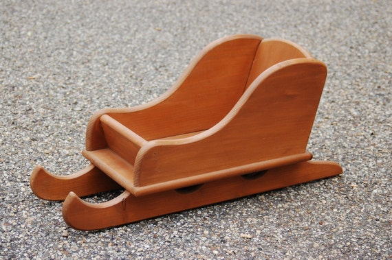 how to make a sled out of wood