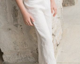 white linen pants – Etsy