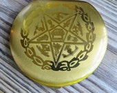 Vintage Order of the Eastern Star Powder Compact